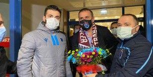 Abdullah Avcı'ya Trabzon'da çoşkulu karşılama