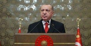 Cumhurbaşkanı Erdoğan: Gazi'nin mirasının içini boşaltmaya çalışanları milletimizin takdirine havale ediyoruz
