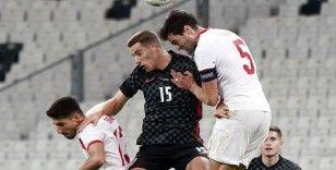 Türkiye hazırlık maçında Hırvatistan ile 3-3 berabere kaldı