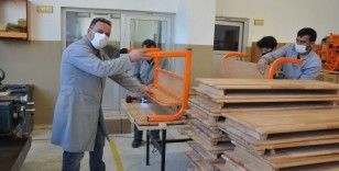 Fabrika gibi çalışan okulun yıllık cirosu 800 bin TL