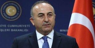 Bakan Çavuşoğlu Bakü'de konuştu