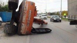 Bursa-Ankara yolunda facianın eşiğinden dönüldü