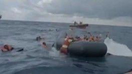 Akdeniz'de batan teknede bebeğini kaybeden annenin acı feryadı
