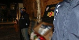 Ankara polisi iki tırda 6 ton 665 kilo kaçak tütün ele geçirdi