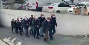 6'sı hücre evinde basılan 9 FETÖ'cü tutuklandı