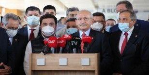 Kılıçdaroğlu, Muhittin Böcek'i ziyaret etti, sağlık durumuna dair bilgi verdi