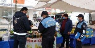 Sultanbeyli'de pazar yerlerinde sigara yasağı ve HES uygulaması denetimi yapıldı