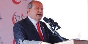 KKTC Cumhurbaşkanı Tatar: Kıbrıs Türk tarafı olarak masaya dönmeye hazırız