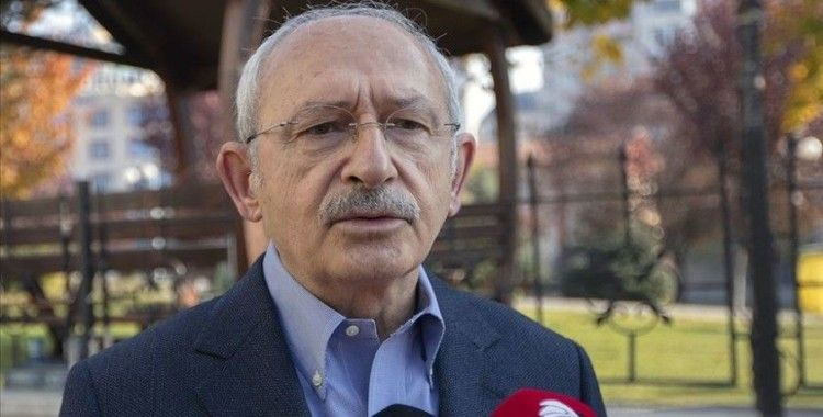 CHP Genel Başkanı Kılıçdaroğlu: Dört partiyle oturup anayasa taslağı hazırlamamız asla söz konusu olmadı