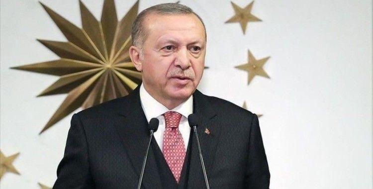 Cumhurbaşkanı Erdoğan: Kıbrıs'ta iki ayrı halk, iki ayrı devlet vardır