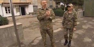 Azerbaycan Cumhurbaşkanı Aliyev işgalden kurtarılan Fuzuli ve Cebrail'i ziyaret etti