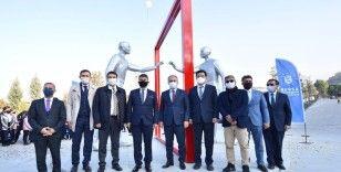 'Türkiye - Güney Kore kardeşlik anıtı' Bursa'ya dikildi