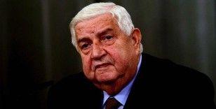 Esed rejiminin Dışişleri Bakanı Velid Muallim öldü