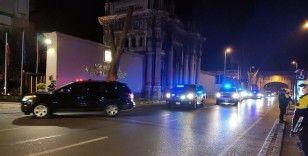 ABD Dışişleri Bakanı Pompeo İstanbul'da konaklayacağı otele geldi