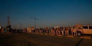 Bağdat'ta Yeşil Bölge'ye füze saldırısı