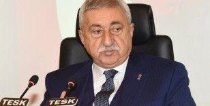 """TESK Başkanı Palandöken: """"Alınan kararlar kapsamında esnaf özel olarak desteklenmelidir"""""""