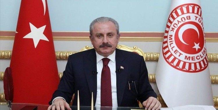 TBMM Başkanı Şentop'tan Azerbaycan tezkeresi mesajı