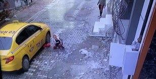 Esenyurt'ta feci kaza: 4 yaşındaki çocuğun üstünden ticari taksi geçti