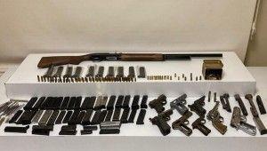 Ümraniye'de yasa dışı silah imalathanesine baskın