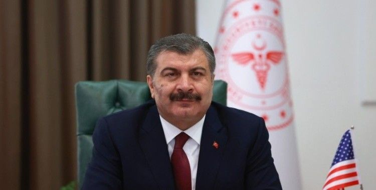 """Sağlık Bakanı Fahrettin Koca:""""Bu yıl 2.3 milyon grip aşırı aldık"""""""