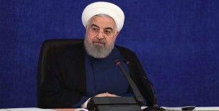 Ruhani'den 'Biden döneminde ABD'yle tehdit ortamından fırsat ortamına geçileceği' mesajı