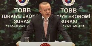 Erdoğan: Artık çok daha güçlü bir şekilde üretime, yatırıma, istihdama ve ihracata odaklanmamız gerekiyor