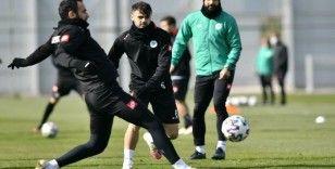 Konyaspor, Kasımpaşa maçı hazırlıklarını sürdürdü