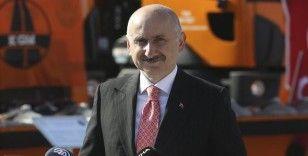 Bakan Karaismailoğlu: 'Çin-Türkiye arasındaki 12 günlük seyir süresini 10 güne düşürmeyi hedefliyoruz'