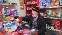 İstanbul'da yaşlı adama markette ekmek bıçağıyla gasp girişimi
