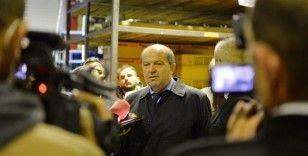 KKTC Cumhurbaşkanı Tatar, hortumda zarar gören bölgelerde incelemelerde bulundu