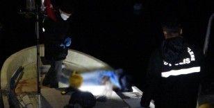 Balık tutmak için denize açıldığı kayıkta öldü