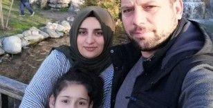 Oğlunu kucağına alamadan kazada ölen babanın isteği yerine getirildi