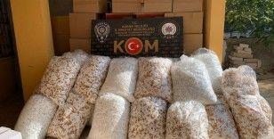Adana'da 3 milyon 60 bin kaçak makaron ele geçirildi