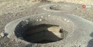 Turret ve bunker savunma yapılarının benzeri Erzurum'da bulundu