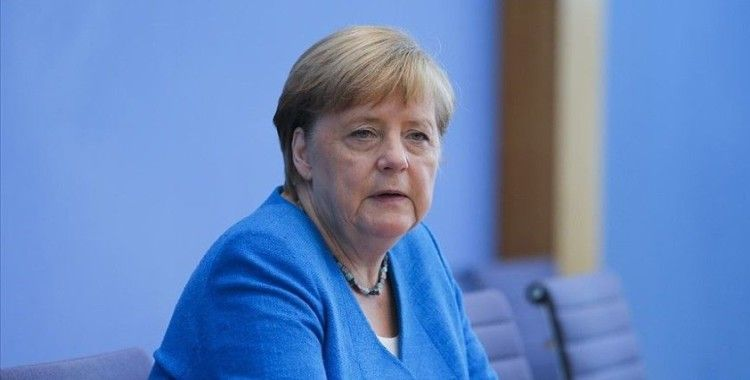 Almanya Başbakanı Merkel: Salgından ders alma ve ekonomiyi daha sürdürülebilir hale getirme isteği var