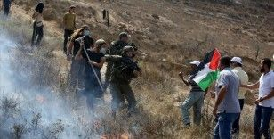 Yahudi yerleşimcilerden Batı Şeria'da Filistinlilere saldırı