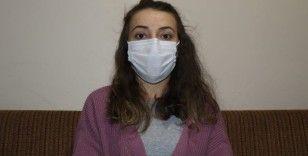 """Korona virüsü atlatan 24 yaşındaki Tuğba: """"Herkes 3 kurala dikkat etsin"""""""