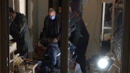 Bursa'da bir evde patlama