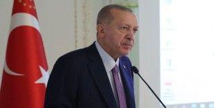 Cumhurbaşkanı Erdoğan: Öğretmenlerimizin mali ve sosyal imkanlarını güçlendirmeyi kendimize vazife addediyoruz