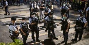 Hong Kong lideri Lam, ulusal güvenlik yasasının 'istikrarın sağlanmasında etkili olduğunu' savundu