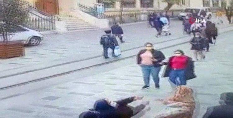 Taksim'de akıl almaz görüntüler