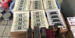 Ataşehir'de 2 milyon doların üzerinde sahte para ele geçirildi