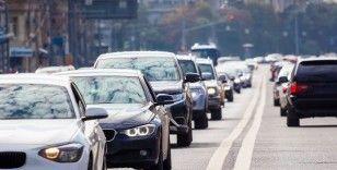 Trafiğe kaydı yapılan taşıt sayısı bir önceki aya göre yüzde 8,2 arttı