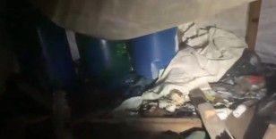 Hakurk'ta PKK'nın karargah olarak kullandığı 8 odalı mağara imha edildi