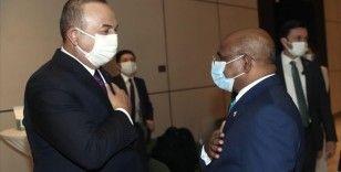 Dışişleri Bakanı Çavuşoğlu, Nijer'de Maldivler ve Çadlı mevkidaşlarıyla görüştü