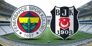 Beşiktaş 10 kişi ile Fenerbahçe karşısında önde 4-3