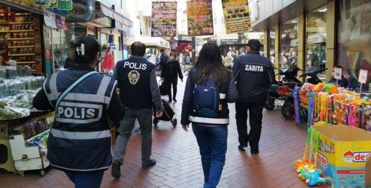 Aydın'da bir günde 81 bin 950 liralık koronavirüs cezası