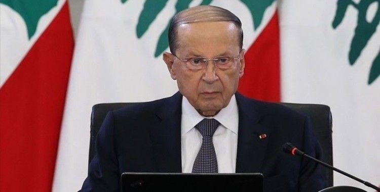 Lübnan Cumhurbaşkanı, Beyrut'un yeniden imarını hedefleyen uluslararası eylem planını memnuniyetle karşıladı