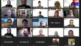 Dü Dış İlişkiler Ofisi, dünya üniversiteleriyle online toplantılarda buluştu