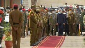 Bakan Akar, Libya'da askeri törene katıldı